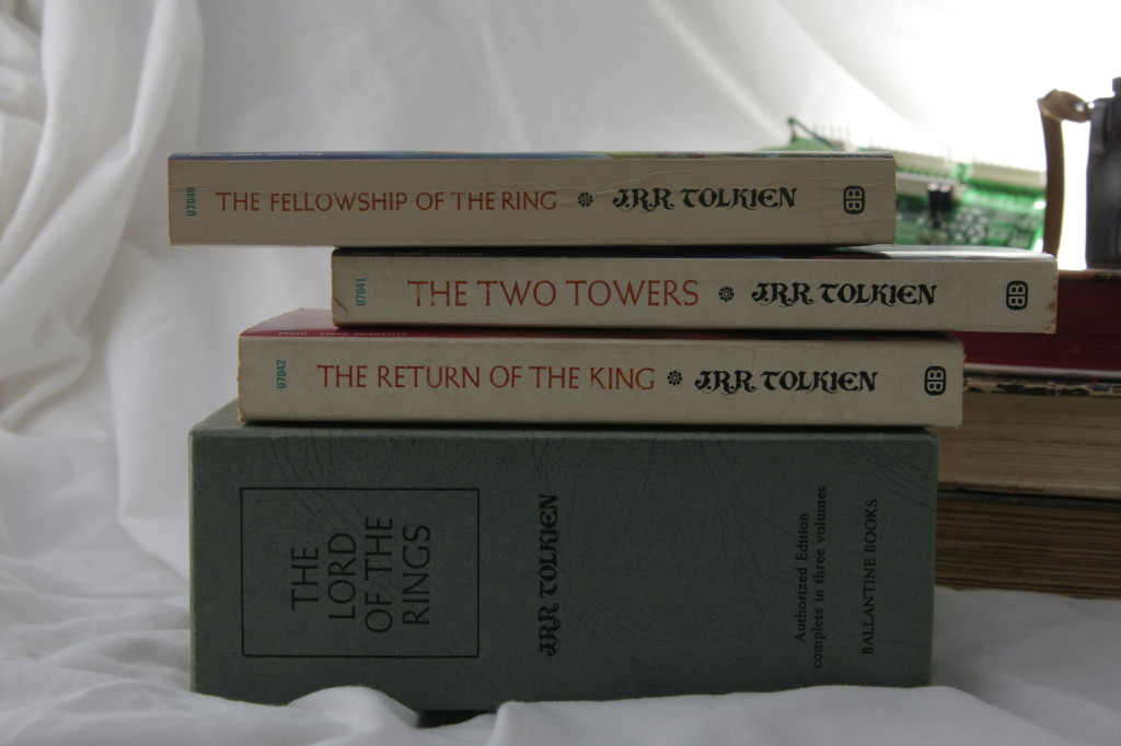First Editions:  Tolkien's Lord of the Rings 1965 Boxed Set