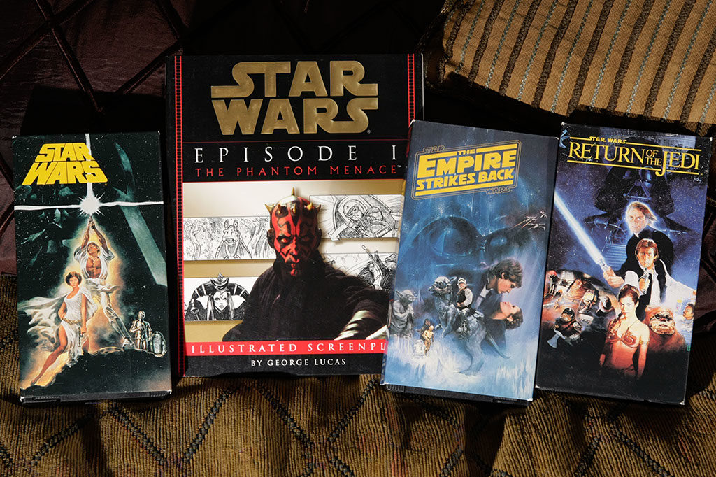 Own the Original Star Wars Trilogy on Pristine VHS