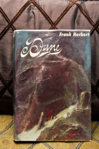 "Really nice, First Edition, third printing copy of the classic ""Dune""."
